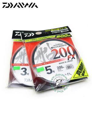 Dây Leader FluoroCarbon Daiwa D-Fron 200FX - Made in Japan