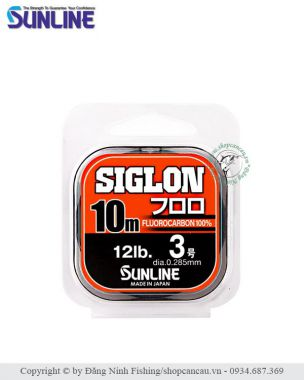 Dây FluoroCarbon Sunline Siglon  FC - cuộn 10m - Made in Japan