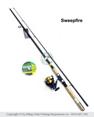 Combo Daiwa Sweepfire - Sale off 14%