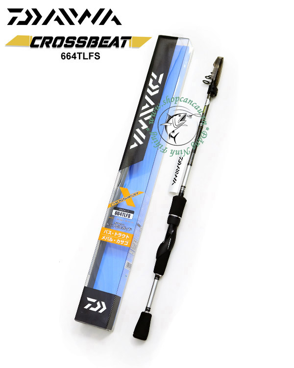 Cần lure rút Daiwa Crossbeat 664TLFS - Made in VietNam