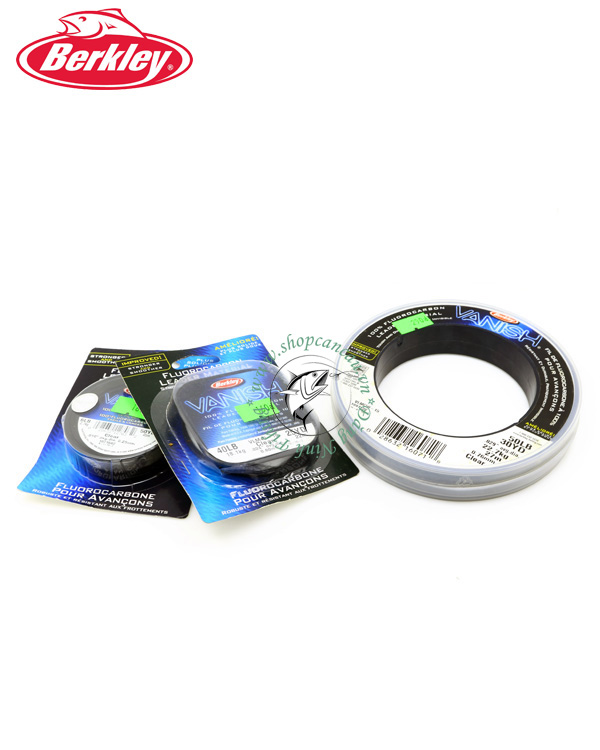 Dây Leader FluoroCarbon Berkley Vanish - Made in USA ( dây ngọn)