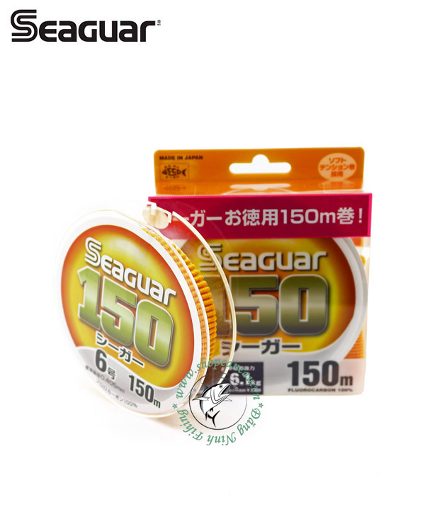 Dây Leader FluoroCarbon Seaguard 150 - cuộn 150m - Made in Japan