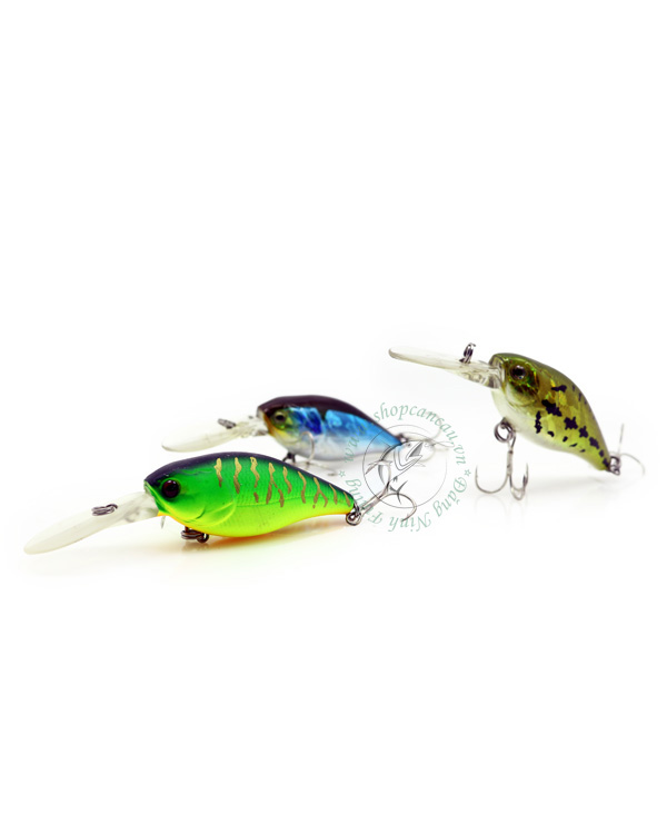 Mồi Lure cá giả  Normandy Crank 55F15  - 11.2gr  - Made in Taiwan