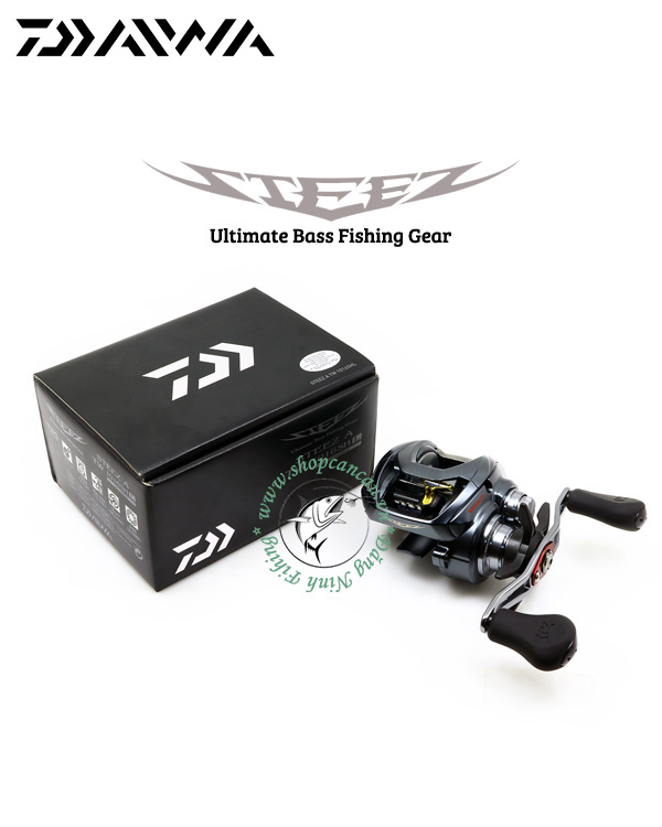Máy câu ngang Daiwa Steez A TW 1016SHL - Made in Japan